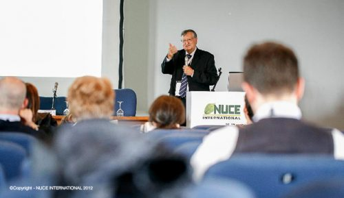 Prof. Wahli chaired at the NUCE International 2012 event in Milan