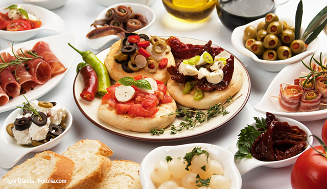 Mediterranean diet as an ancestral example of health beneficial combinatorial nutrition