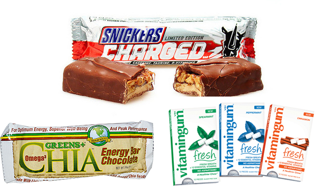 Chocolate and chewing gum as promising vehicles for functional food